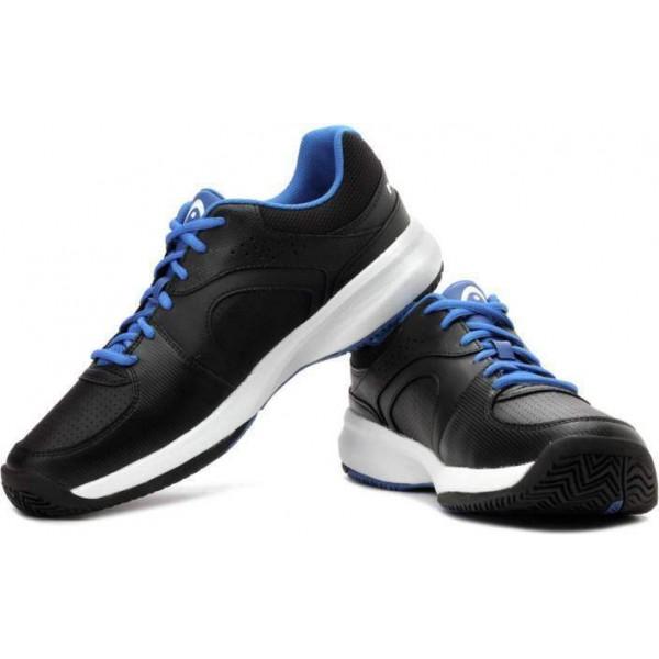 HEAD Lazor Tennis Shoe Black and Blue