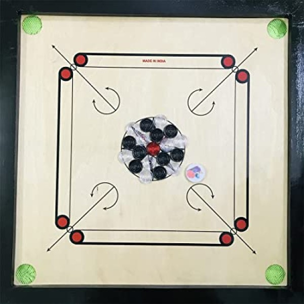 Altis Wooden Carrom Board 26 Inches (Med...