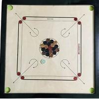 Altis Wooden Carrom Board 32 Inches (Lar...