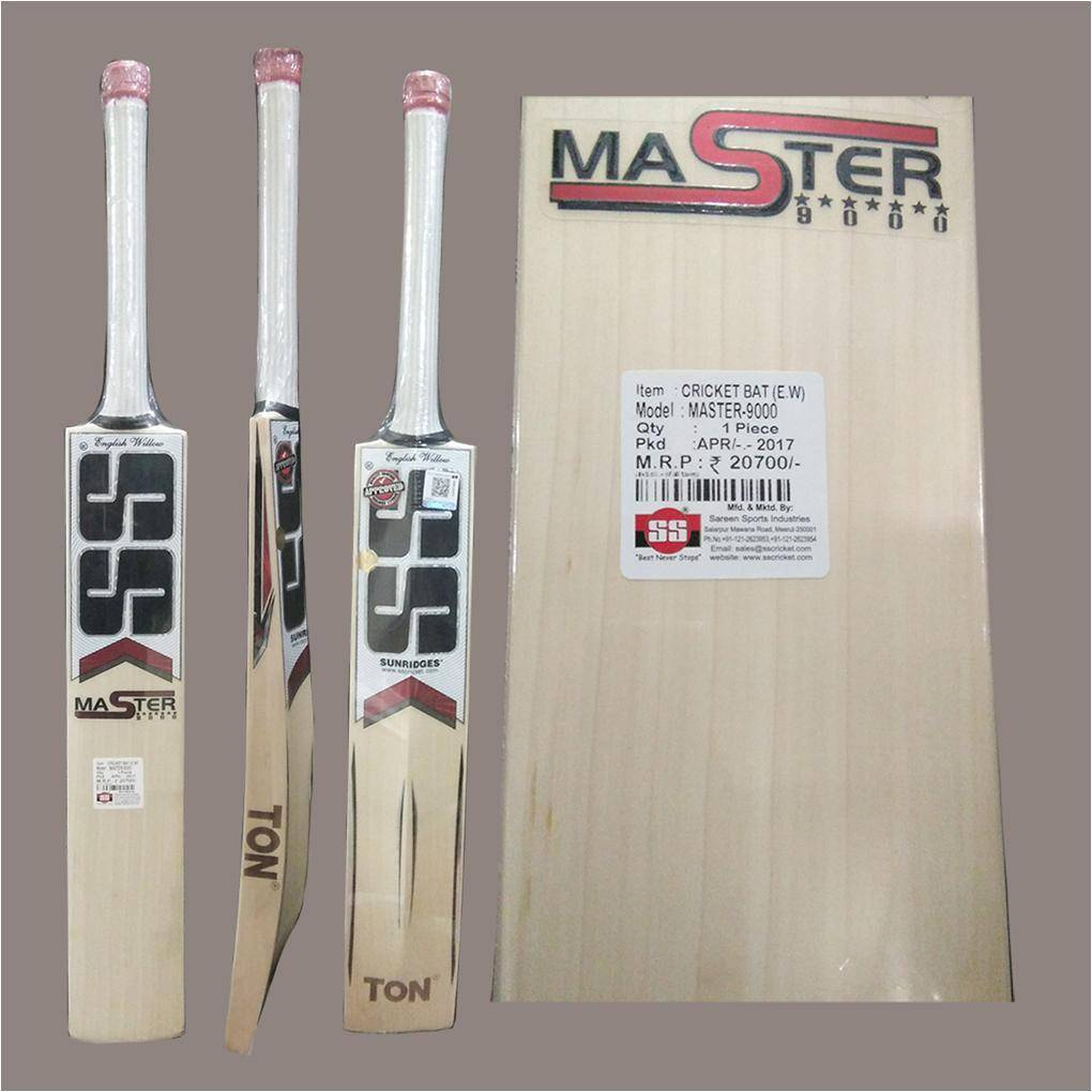 8a7624deade Buy SS Master 9000 English Willow Cricket Bat Online in India at Lowest  Prices   Reviews